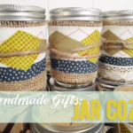 Handmade Christmas Gifts:  Jar Cozy