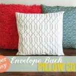 Easy Envelope Back Pillow Cover