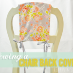 Sewing Chair Back Covers