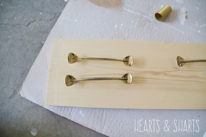 painting-brass-plated-hardware-HeartsAndSharts