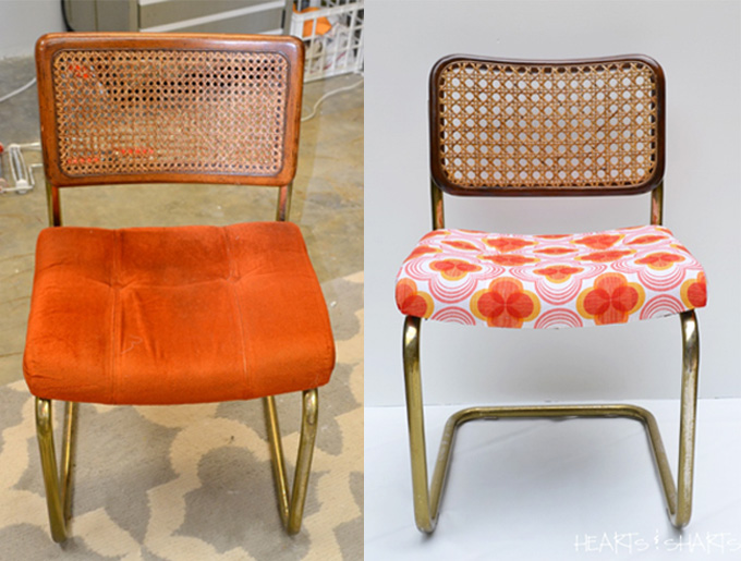 before-and-after-chromcraft-cesaca-chair-hearts-and-sharts