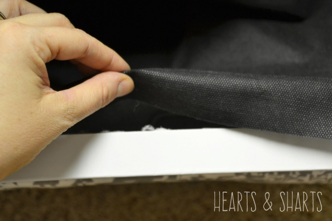 Adding A Dust Cover To Upholstery Projects Hearts Amp Sharts