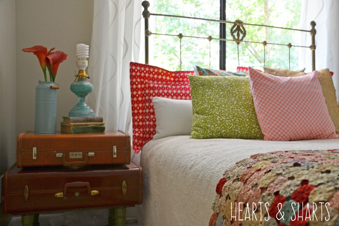 stacked-luggage-nightstands-hearts-and-sharts
