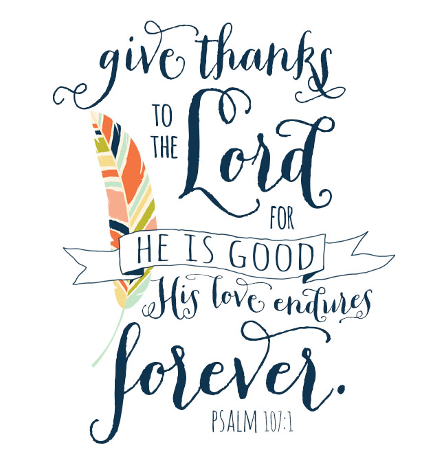 Give Thanks Free Printable | Hearts & Sharts