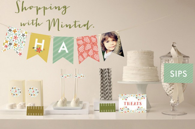 Shopping with Minted.