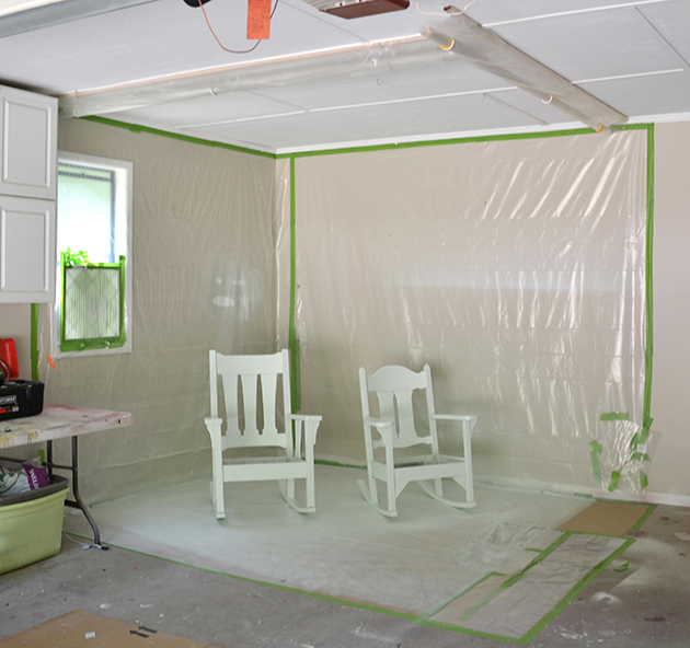 Pop Up Paint Booth >> Diy Garage Paint Booth Hearts Sharts