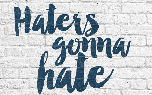 Haters Gonna Hate || Hearts & Sharts