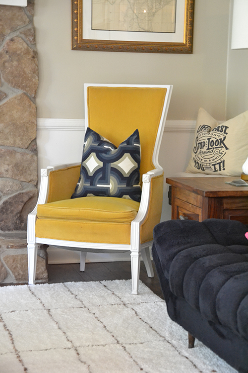Upholstery Free Chair Makeover || Hearts & Sharts