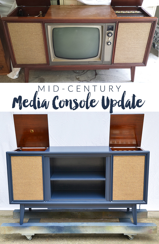 Vintage Media Console Update | Hearts & Sharts
