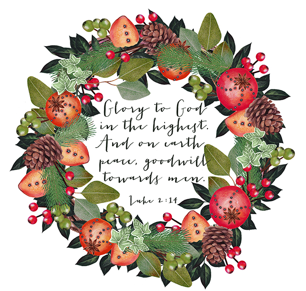 Free Christmas Printable || Luke 2 || Hearts & Sharts