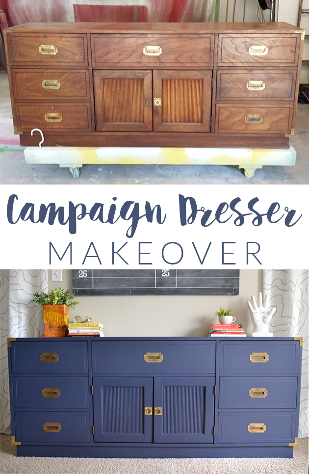 Campaign Dresser Makeover || Hearts & Sharts